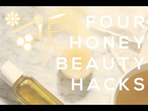 4 HONEY BEAUTY HACKS | DIY