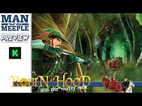 Robin Hood and the Merry Men (Final Frontier Games) Preview by Man Vs Meeple