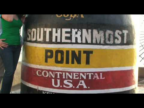 The Southernmost Point In Continental United States Of America, Key West, Florida Keys, USA