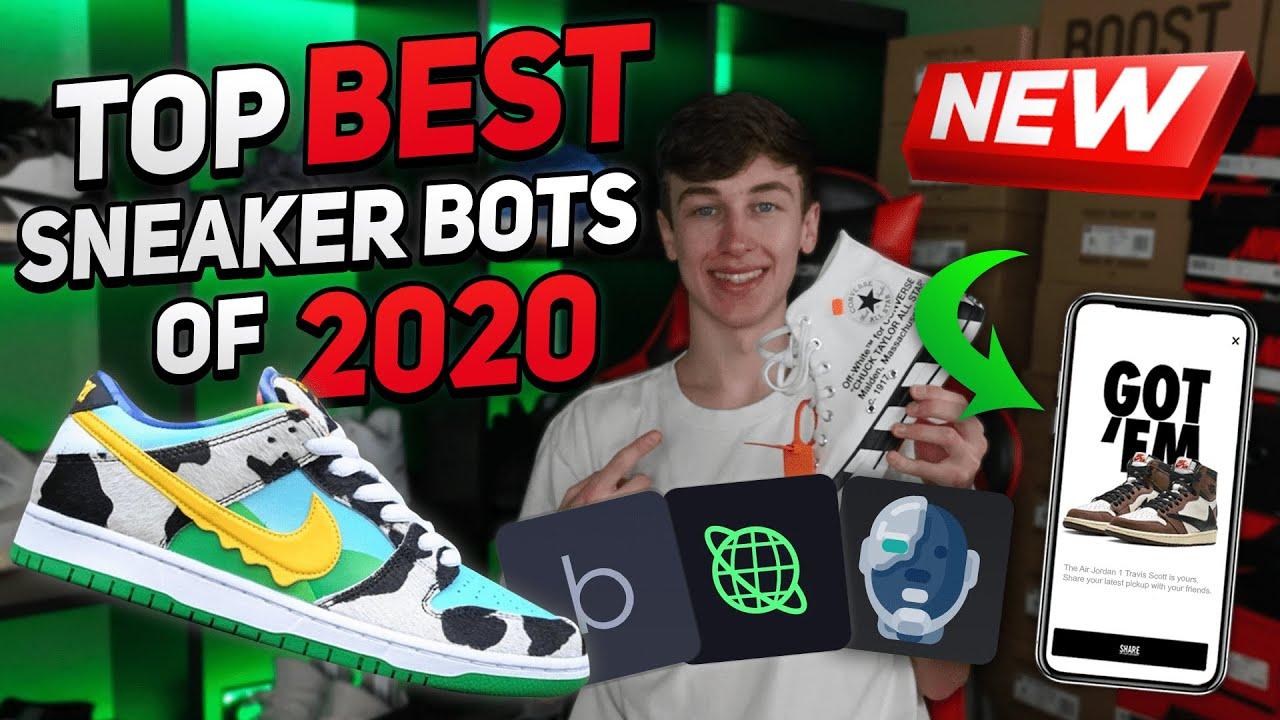 2020!!(Bot SNKRS, Yeezy Supply, Supreme