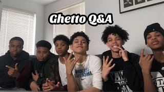 QNA with the brothers (ghetto version)😂