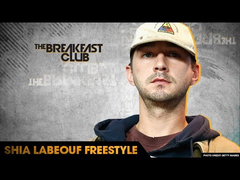 Shia Labeouf Freestyle - Goes In On Drake, Lil Yachty, Jean-Claude Van Damme, Vin Diesel And More!