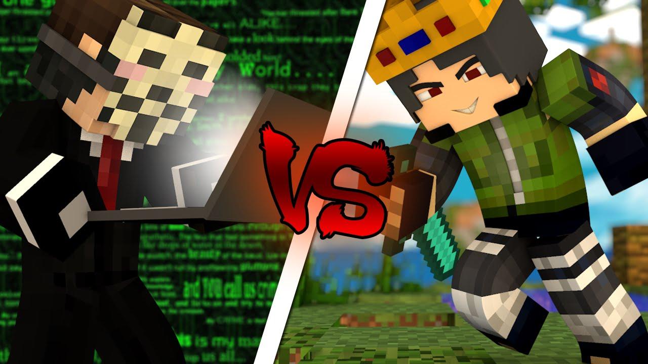 HACKER VS PRO ‹ Minecraft Machinima ›