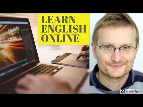 Learn English today: Online English lessons with Andrew Goddard EnglishwithAndrew