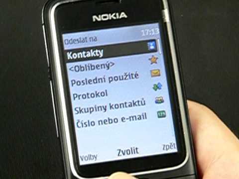 Nokia 2710 Navigation - zprávy