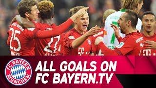 FC Bayern - SV Werder Bremen | Highlights on FC Bayern.TV