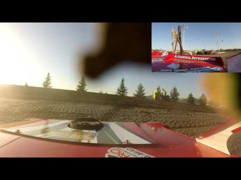 Jeff Crouse Racing.  Viking Speedway. 2 gopros.  5/13/17