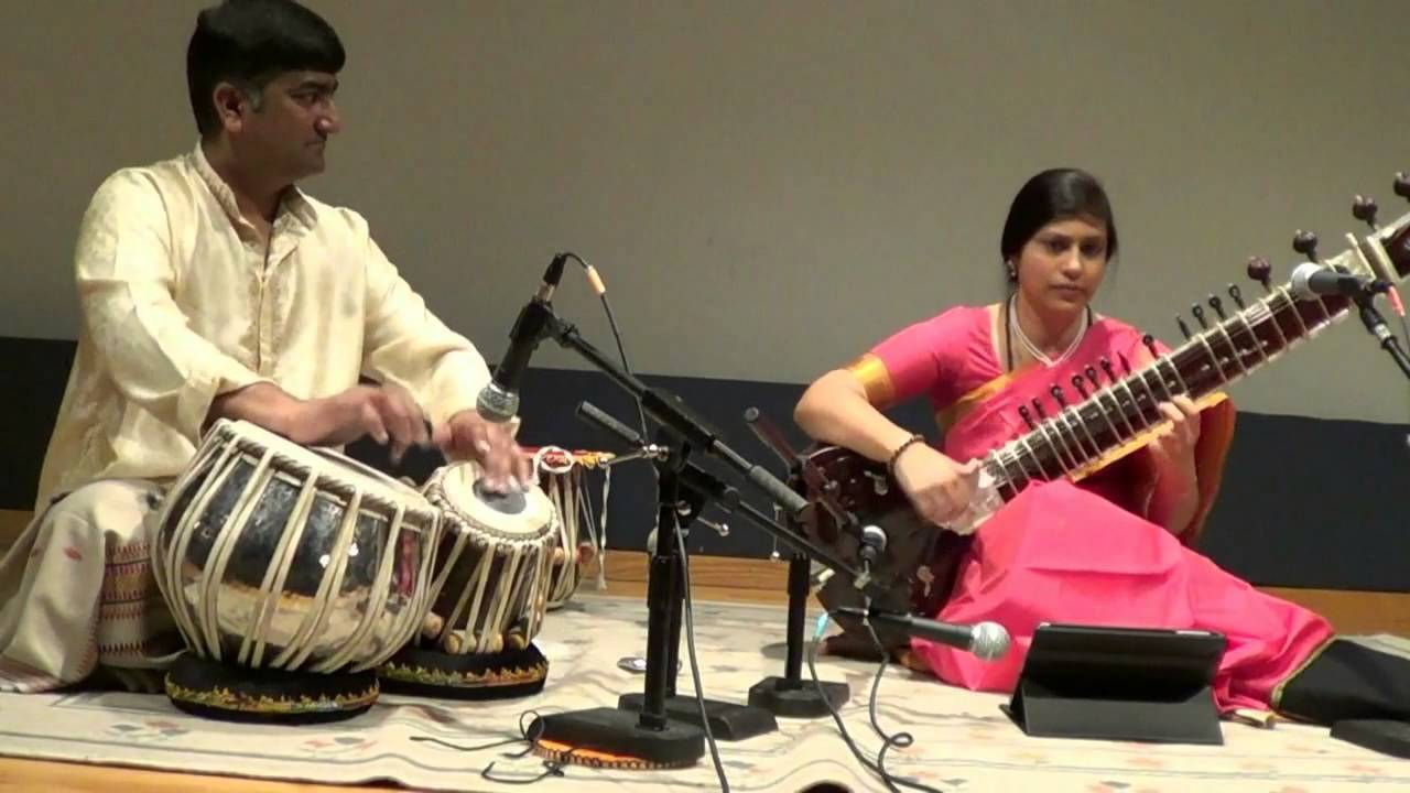 Anupama Bhagwat(Sitar)and Suryaksha Deshpande(Tabla) at Buffalo