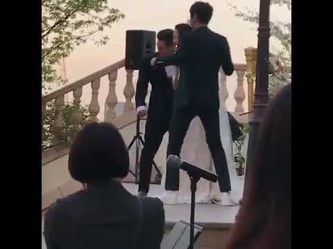 ユノ結婚式参列