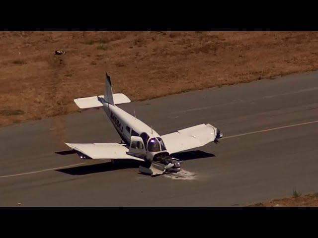 HARD LANDING: Raw video of hard-landing crash at Reid-Hillview Airport