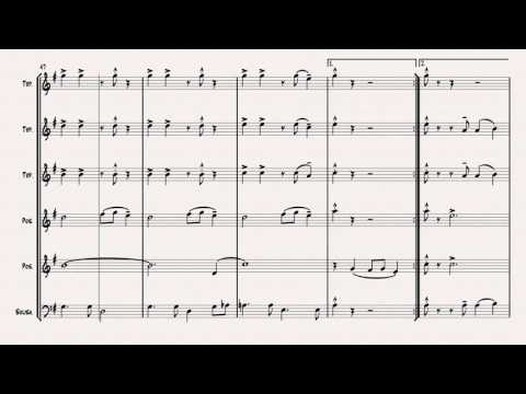 New York, New York - Sheet Music (arr. C.Tegtmeyer)