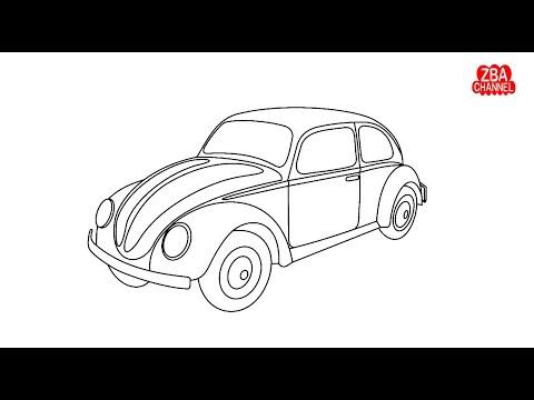 Menggambar Dan Mewarnai Bis Kecil Tayo Lucu Youtube