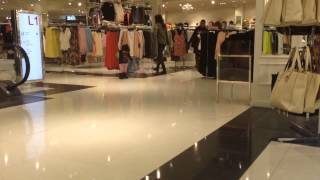 Zara running in century 21, Quakerbridge mall