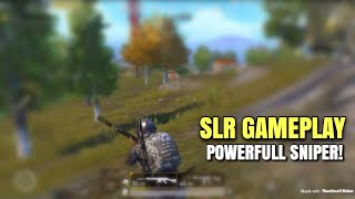 SLR Silenced Gameplay | PUBG Mobile Lightspeed | SLR IS OP!