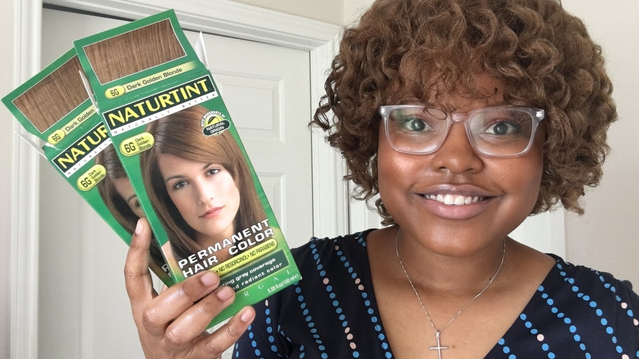 Naturtint 6g Hair Talk Michelletatenda Youtube