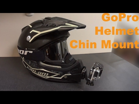 DIY GoPro ATV Motocross Helmet Chin Mount
