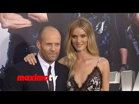 Jason Statham & Rosie Huntington-Whitley | The Expendables 3 | Los Angeles Premiere