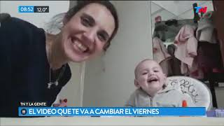Video: Imperdible charla de una mamá con su beba