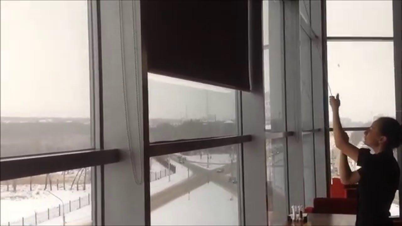 рулонные шторы на большие окна жалюзи мастер магнитогорск екатеринбург