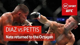 Nate Diaz vs Anthony Pettis (UFC 241 Highlights)