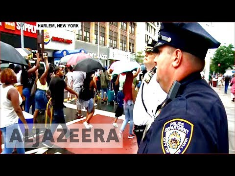New York protesters rally against police killing
