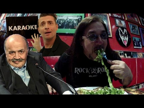 Torna Maurizio Costanzo e il Karaoke  Pino Scotto