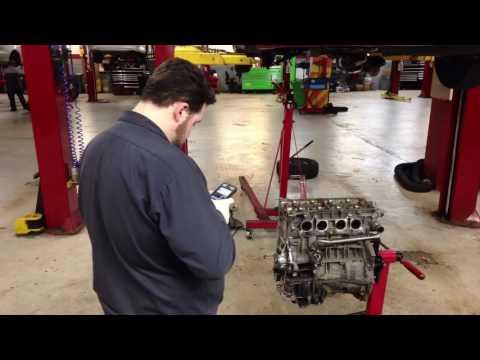 Time lapse 2008 Toyota Camry engine rebuild