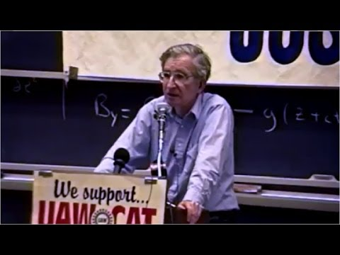 Anti-politics: Hating Government, While Ignoring Private Power -- Noam Chomsky