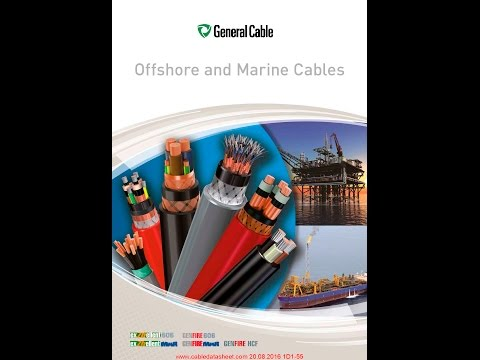 General Cable NEK TS 606 Ofshore Cables