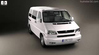 Volkswagen Transporter (T4) Caravelle 1996 by 3D model store Humster3D.com