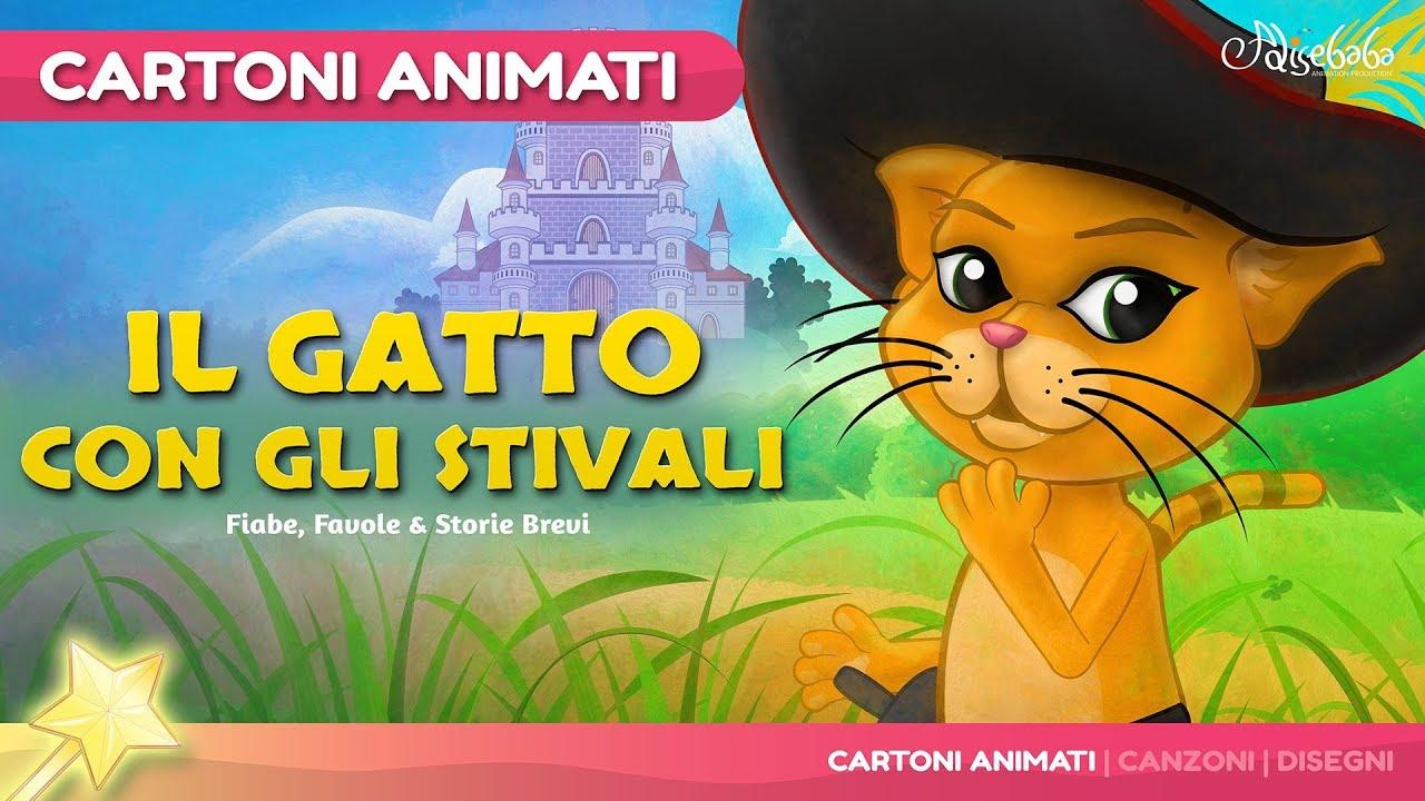 Il Gatto Con Gli Stivali Storie Per Bambini Cartoni Animati