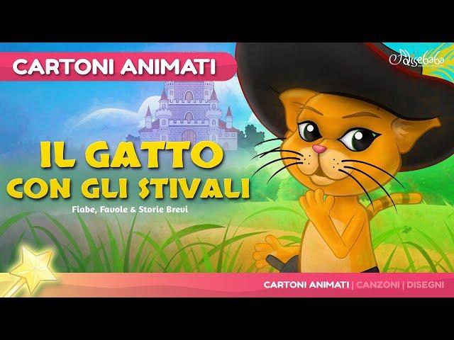 Il gatto con gli stivali Fiaba sonora CantaBimbo