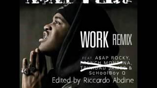 A$AP Ferg - Work Remix ft. A$AP Rocky & SchoolBoy Q (without French Montana & Trinidad James)