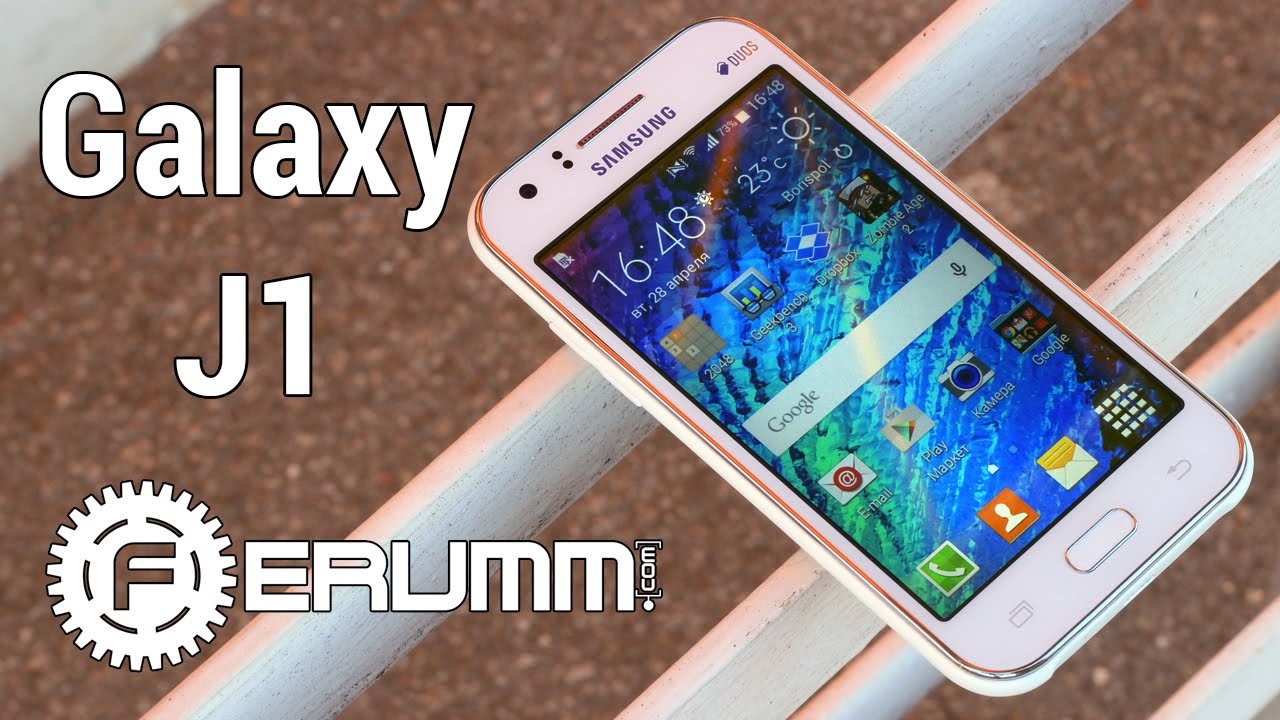 Samsung Galaxy J1 mini [2016] Unboxing - YouTube