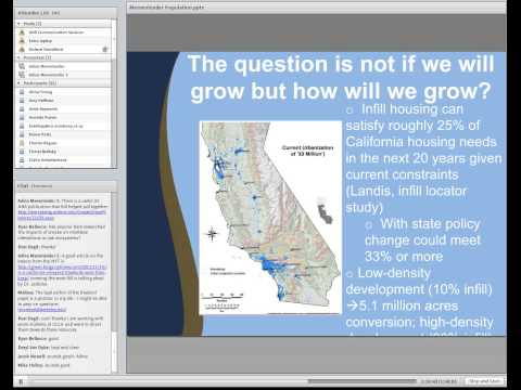 Future growth and land use change: what it means for California's natural resources