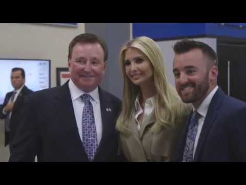 Ivanka Trump Visits the NASCAR Technical Institute