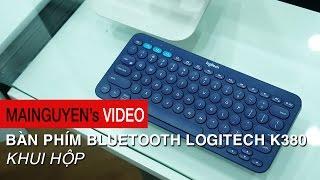Khui hộp bàn phím Bluetooth Logitech K380 - www.mainguyen.vn