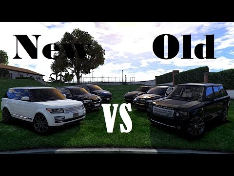 gta v old vs new range rover vouge bmw x5m. Black Bedroom Furniture Sets. Home Design Ideas