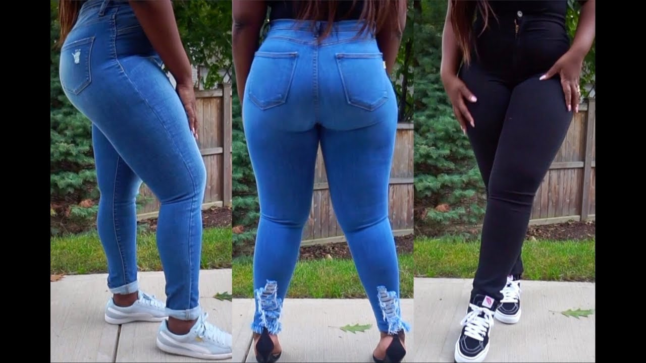 7a07353949f Jeans for Curves size 15 and 1X ft. Monotiques.com - YouTube
