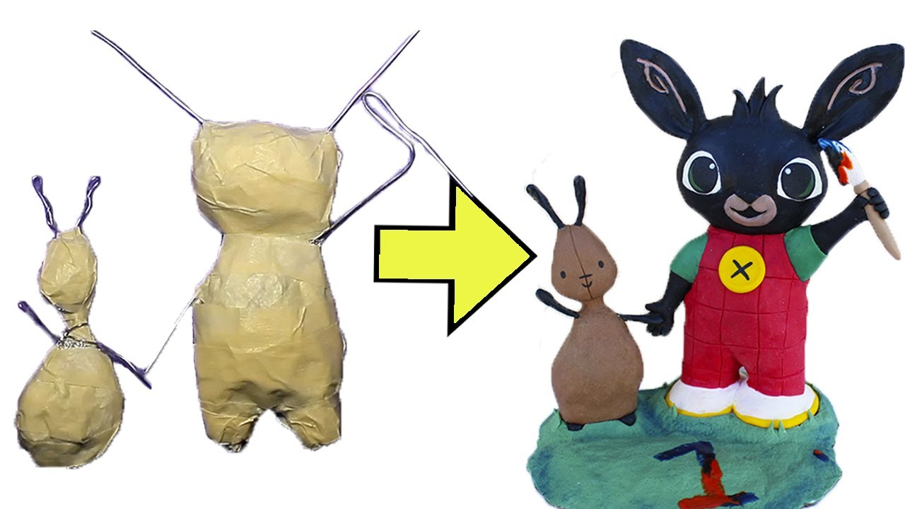 [ENG] How to make a polymer clay armature of chubby characters - Tutorial - DIY with fimo