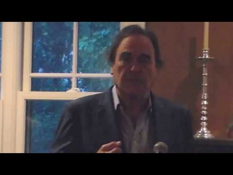 Oliver Stone's Remarks at the Gary Webb Freedom of the Press Award Reception 2017