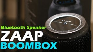 ZAAP BOOMBOX review - 360 degree sound, Touch and rotating controller, price Rs. 3,499