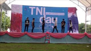 140801 ZENITH Cover K-pop (Eternity - Vixx + Shadow - B2ST)@TNI Day(Goodbye stage)