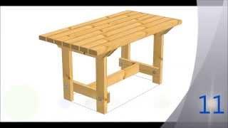 Masuta De Gradina [DIY][HD]