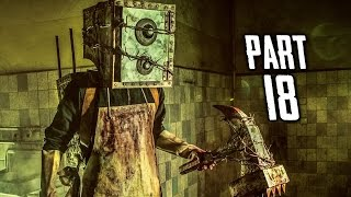 The Evil Within Walkthrough Gameplay Part 18 - Boxhead (PS4)