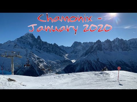 Chamonix Ski Snowboard January 2020