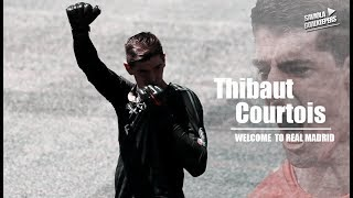 Thibaut Courtois - Welcome To Real Madrid - INSANE SAVES 2018 - HD