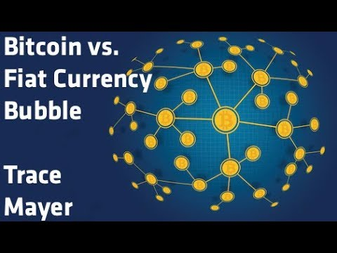 """Bitcoin vs Fiat Currency Bubble"" - Trace Mayer"