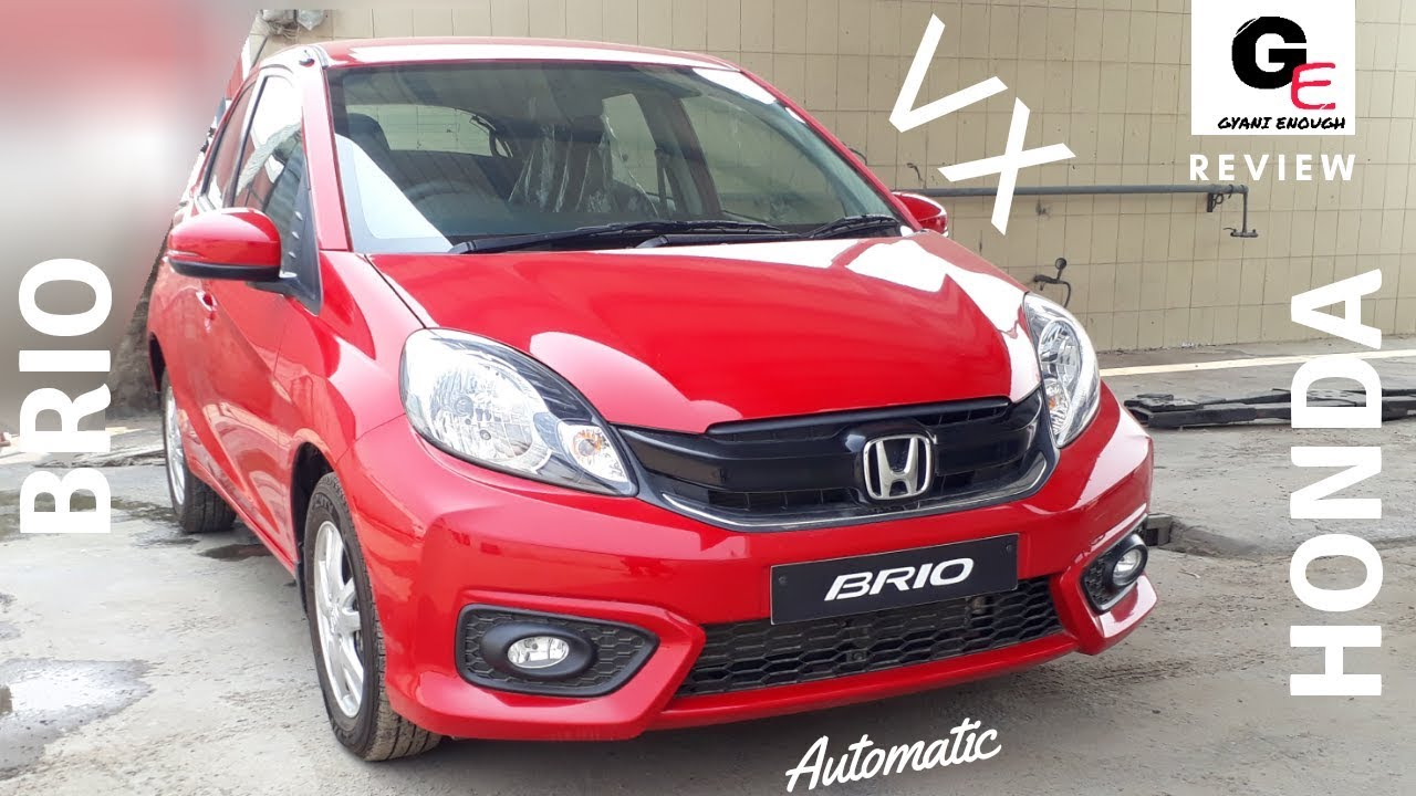2018 Honda Brio Vx Automatic Most Detailed Review Features