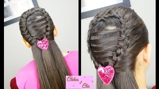 Ladder Braided Drop | Easy Hairstyles | Hairstyles for School | Braided Hairstyles
